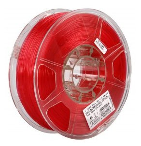 PLA пруток ESUN 1.75 мм прозрачно-красный