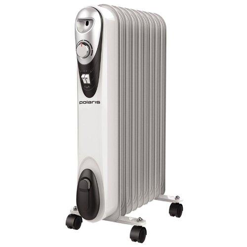 Масляный радиатор Polaris CR C 0920 COMPACT белый/черный