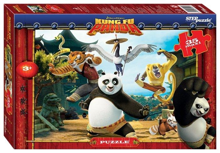 Пазл Step puzzle DreamWorks Кунг-фу Панда (91221), 35 дет.