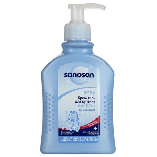 Sanosan Baby Крем-гель для купания (с дозатором) 200 мл