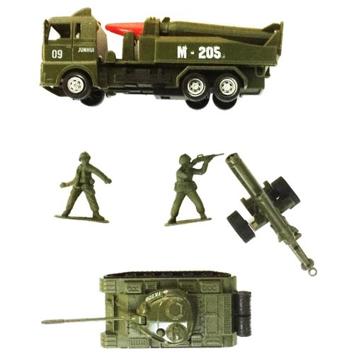 Набор техники Город Игр Мир машинок - Армия XL (GI-6400) зеленыйМашинки и техника<br>