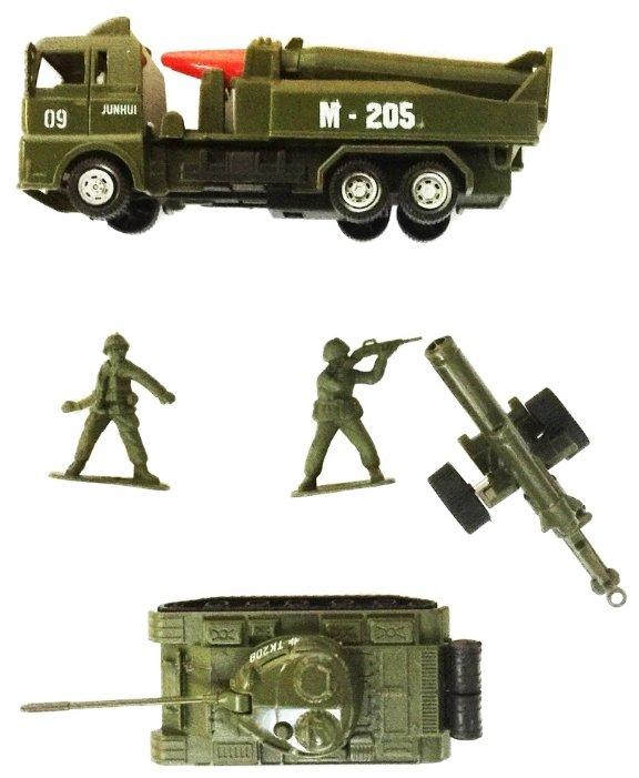 Набор техники Город Игр Мир машинок - Армия XL (GI-6400)