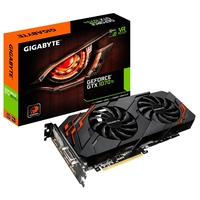 Видеокарта GIGABYTE GeForce GTX 1070 Ti 1607MHz PCI-E 3.0 8192MB 8008MHz 256 bit DVI HDMI HDCP WINDFORCE