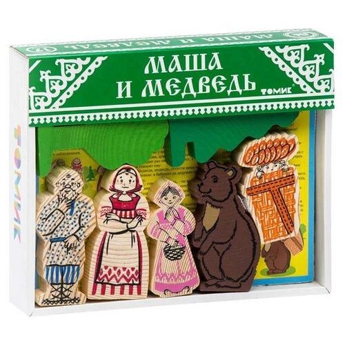 Кубики Томик Маша и медведь 4534-9 конструктор томик сказки колобок 18 элементов 4534 2