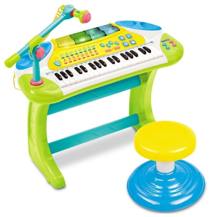 Weina пианино со стульчиком 2079
