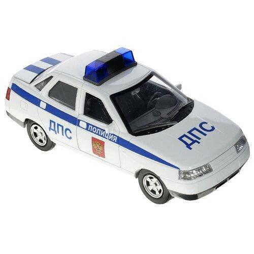 цена на Легковой автомобиль ТЕХНОПАРК Lada 2110 ДПС (A553-H11060) 1:43 белый