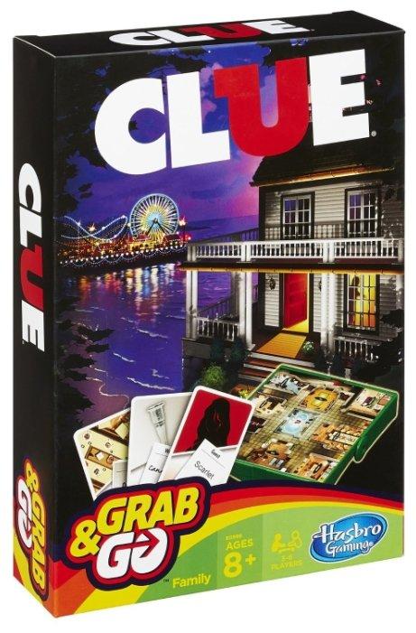 Настольная игра Hasbro games Клуэдо. Дорожная версия B0999