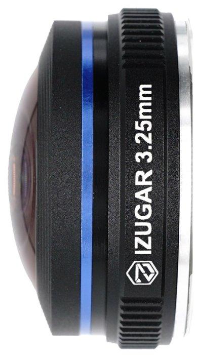 Объектив iZugar 3.25mm f/2.5 Fisheye Micro 4/3