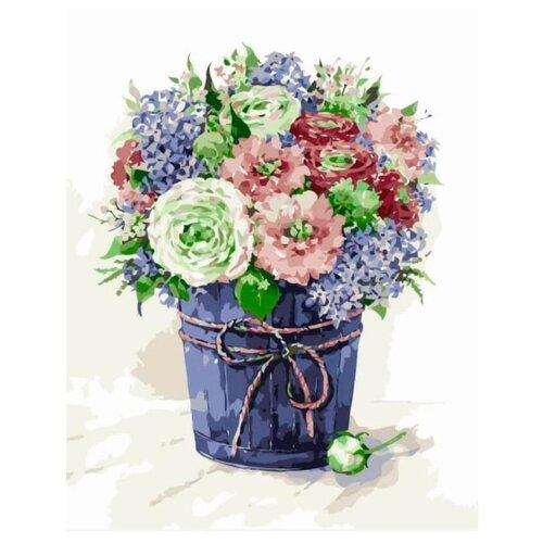 Цветной Картина по номерам Сиреневая нежность 40х50 см (MG2064)Картины по номерам и контурам<br>