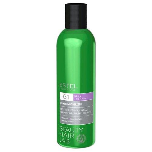 ESTEL Laboratory шампунь Beauty Hair Lab Sebo Therapy от перхоти 250 мл шампунь от перхоти 150 мл i c lab individual cosmetic шампунь от перхоти 150 мл