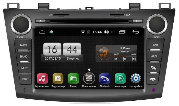 Автомагнитола FarCar s170 Mazda 3 Android (L034)