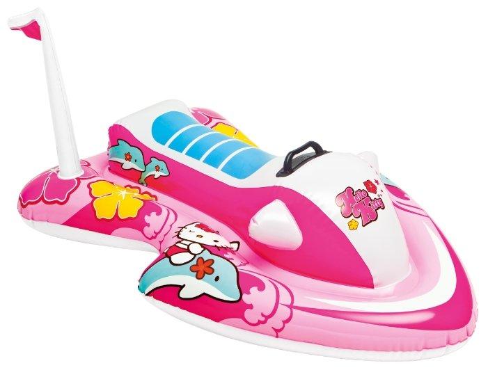 Надувная игрушка-наездник Intex Hello Kitty Sanrio 57522