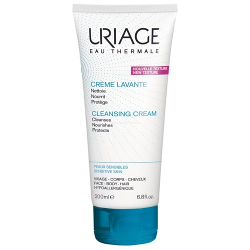 Uriage крем очищающий пенящийся Creme Lavante, 200 мл uriage солнцезащитный крем
