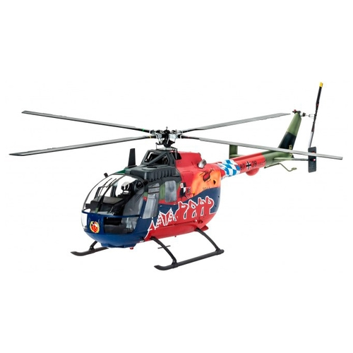 Сборная модель Revell BO105 35th Anniversary of Roth Fly-Out Version (64906) 1:32