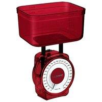 Кухонные весы Lumme LU-1301 красный гранат