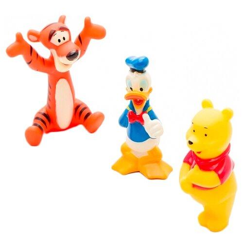 Купить Набор для ванной Играем вместе Винни, Тигруля, Дональд (112R-DISNEY-PVC), Игрушки для ванной