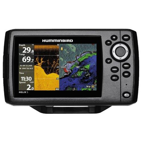 Фото - Эхолот Humminbird HELIX 5 CHIRP DI GPS G2 эхолот humminbird helix 5x di gps