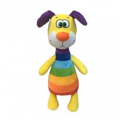 Мягкая игрушка СмолТойс Радужный пёс 46 см
