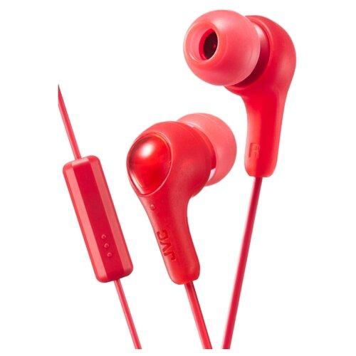 Наушники JVC HA-FX7M red