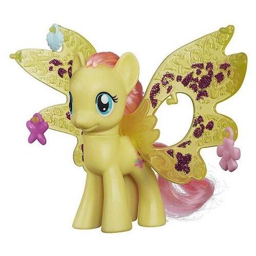 Фигурка My Little Pony Fluttershy с волшебными крыльями B0670 my little pony big twilight sparkle fluttershy princess celestia nightmare moon unicorn pegasus animal toys girl birthday gifts