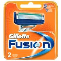 Сменные лезвия Gillette Fusion, 2 шт.