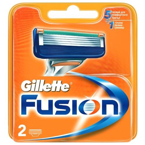 Сменные кассеты Gillette Fusion5 , 2 шт.Бритвы и лезвия<br>