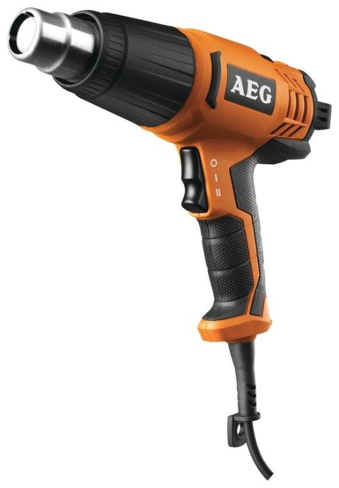 Строительный фен AEG HG 600 VK Case 2000 Вт