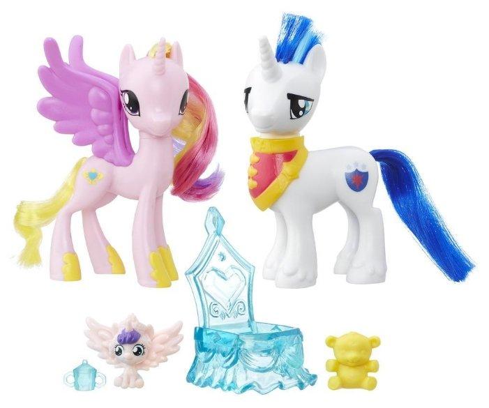 Игровой набор Hasbro Пони-модницы: Парочки Princess Cadence & Shining Armor B9848