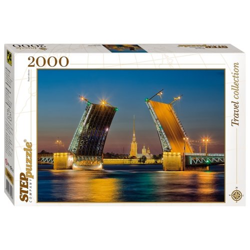 Купить Пазл Step puzzle Travel Collection Санкт-Петербург (84026), 2000 дет., Пазлы