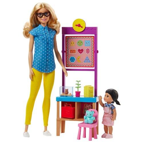 Набор кукол Barbie Школьная учительница, FJB29 недоросль школьная классика 2019 10 12t12 00