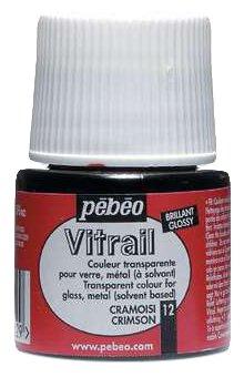 Краски Pebeo Vitrail Малиновый 050012 1 цв. (59 мл.)