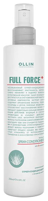 OLLIN Professional Full Force Увлажняющий спрей- кондиционер с экстрактом алоэ для волос