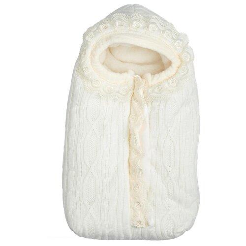 Купить Конверт-мешок Сонный Гномик Зимняя Радость 74 см молочный, Конверты и спальные мешки