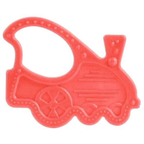 Прорезыватель Canpol Babies Flexible teether 13/118 красный паровозикПогремушки и прорезыватели<br>