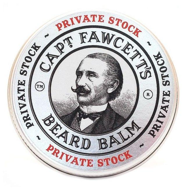 Captain Fawcett Бальзам для бороды Private Stock