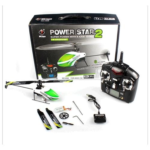 Вертолет WL Toys Power Star 2 (V988) 23.8 см