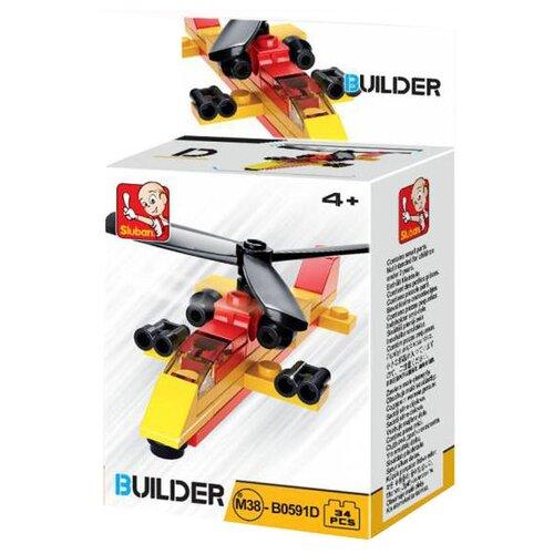 Конструктор SLUBAN Builder M38-B0591D Вертолет