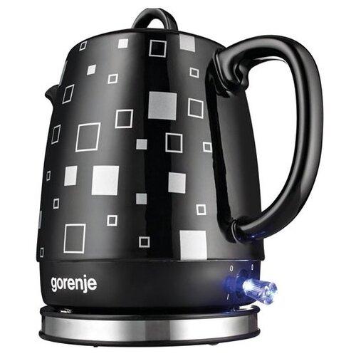 Чайник Gorenje K10BKC, черный чайник gorenje k17fe серебристый