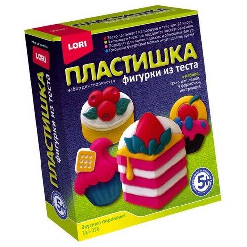 Купить Масса для лепки LORI Пластишка - Вкусные пирожные (Тдл-026), Пластилин и масса для лепки