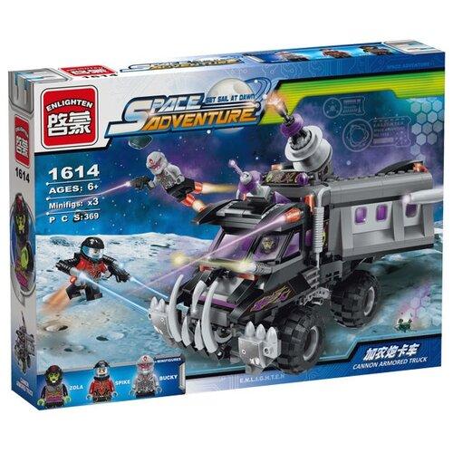 Купить Конструктор Qman Space adventure 1614 Пушечный бронированный грузовик, Конструкторы