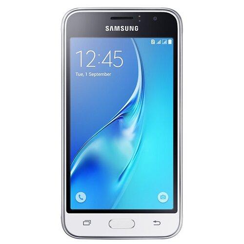 Смартфон Samsung Galaxy J1 (2016) SM-J120F/DS черный (SM-J120FZKDSER)Мобильные телефоны<br>