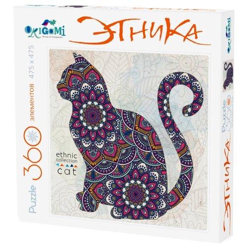 Купить Пазл Origami Этника Кошка (02898), элементов: 360 шт., Пазлы