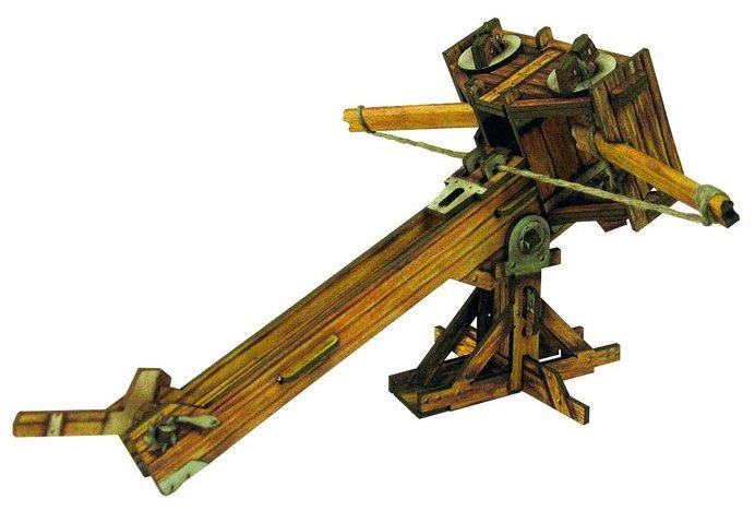Сборная модель Умная Бумага Баллиста (340),,