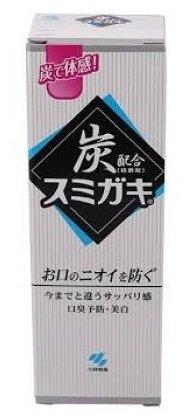 Зубная паста KOBAYASHI С углем и мятными