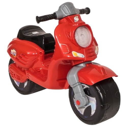 Каталка-толокар Orion Toys Скутер (502) красный каталка толокар orion toys мотоцикл 2 х колесный 501 зеленый