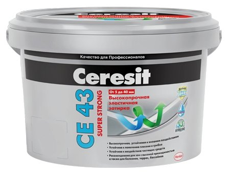 Затирка Ceresit CE 43 Super Strong 2 кг