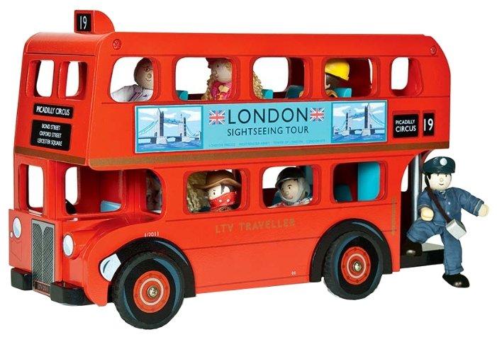 Игровой набор Лондонский автобус с водителем LE TOY VAN TV469