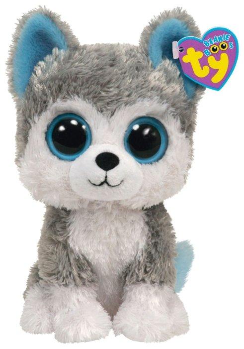 Мягкая игрушка TY Beanie boos Хаски Slush 33 см