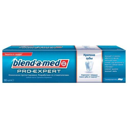 Зубная паста Blend-a-med Pro-Expert Крепкие зубы, тонизирующая мята, 100 мл inspira med mfa expert peel60 exfoliator купить