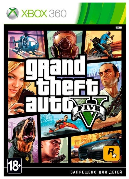 Игра для Xbox 360 Grand Theft Auto V, русские субтитры фото 1